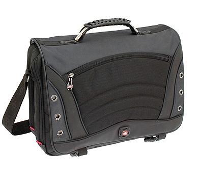Wenger Swissgear Saturn Messenger Bag Top Loading Poly Item 494505
