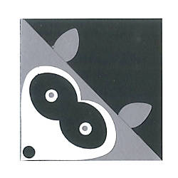 Sizzix Bigz Dies Bookmark Corner Raccoon