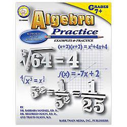 Carson Dellosa Mark Twain Algebra Practice