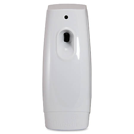 TimeMist Classic Metered Aerosol Dispenser - 0.25 Hour Medium - 30 Day(s) Refill Life - Extreme Citrus - 44883.12 gal Coverage - 2 x AA Battery - 6 / Carton - White