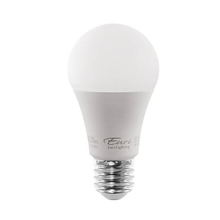 euri a19 5000 series led light bulb 200 dimmable 1100 lumen 12 watt 3000kwarm white pack of 12. Black Bedroom Furniture Sets. Home Design Ideas
