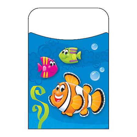 """TREND Terrific Pockets, Sea Buddies, 3 1/2"""" x 5 1/4"""", Pack Of 40"""