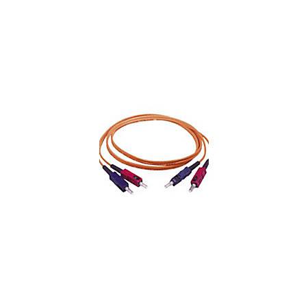 C2G-30m SC-SC 50/125 OM2 Duplex Multimode PVC Fiber Optic Cable - Orange