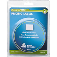 Monarch Model 1115Alpha Pricemarker Labels 411