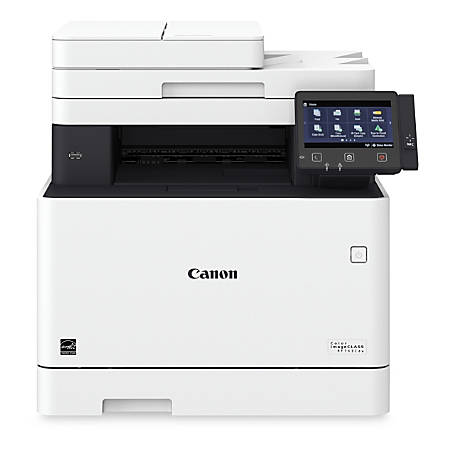 Canon imageCLASS® MF743Cdw Wireless Color Laser All-In-One Printer, Scanner, Copier, Fax