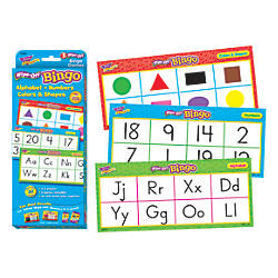 TREND Wipe Off Bingo Set Alphabet