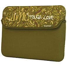 SUMO Graffiti iPad Sleeve Green