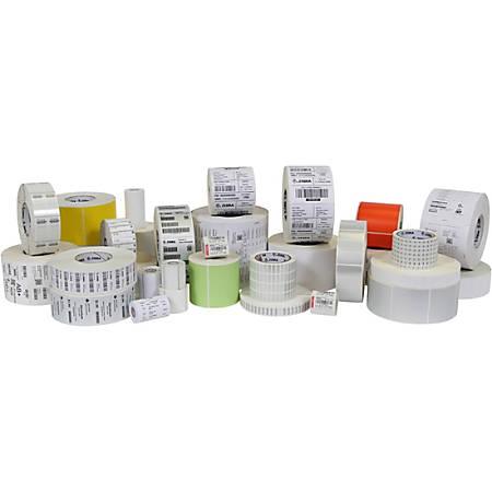 "Zebra Label, E62555, Polypropylene 2"" x 1"" Direct Thermal Zebra PolyPro 4000D, 1"" Core"