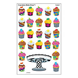TREND SuperShapes Stickers Cupcakes Bake Shop