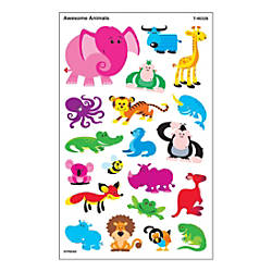 TREND SuperShapes Stickers Awesome Animals Large