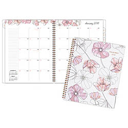 AT A GLANCE Blush Monthly Planner