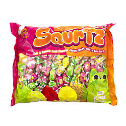 Original Gourmet Squirtz Chewy Candies Sour