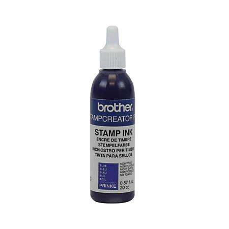 Brother® Refill Ink Bottle, .67 Oz, Blue