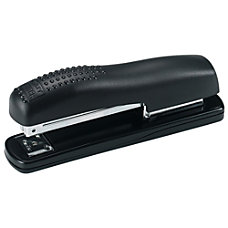 Bostitch Ergonomic Contemporary Desktop Stapler Black