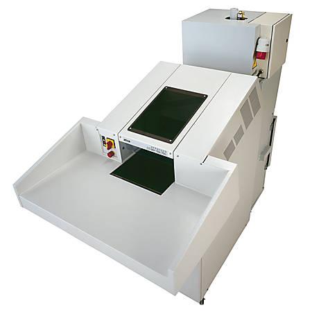 Ativa® V4040C 120-Sheet Cross-Cut Shredder/Baler Combo, White Glove Delivery