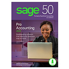 Sage 50 Pro Accounting 2020 US