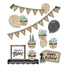 Schoolgirl Style Simply Stylish Birthday Bulletin