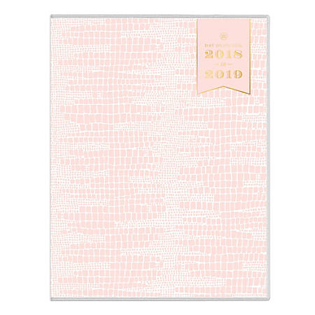 "Day Designer For Blue Sky™ Blush Le Liz Monthly Planner, 11"" x 8 1/2"", Multicolor, July 2018 to June 2019"
