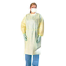 Medline Polypropylene Fluid Resistant Isolation Gowns