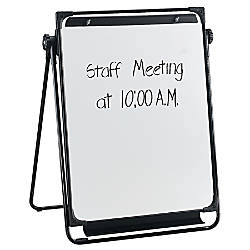 Flipchart Easel With Dry Erase Board