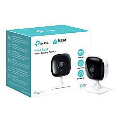 TP-Link Kasa™ Smart Spot High-Resolution Indoor Camera, White