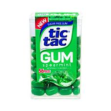 Tic Tac Sugar Free Spearmint Gum