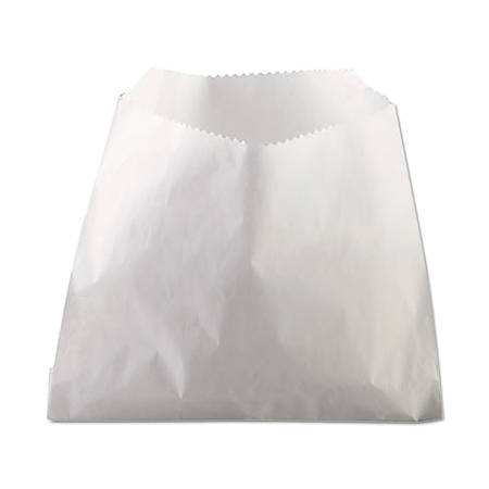 "Bagcraft Papercon PB9 French Fry Bags, 5 1/2"" x 2"" x 4 1/2"", White, Case Of 2,000"