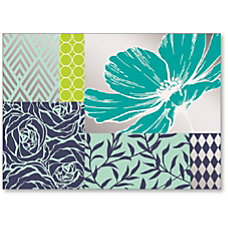 Viabella Blank Note Greeting Card Flowers