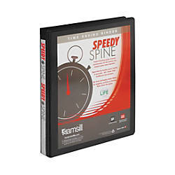 Samsill Speedy Spine Round Ring View