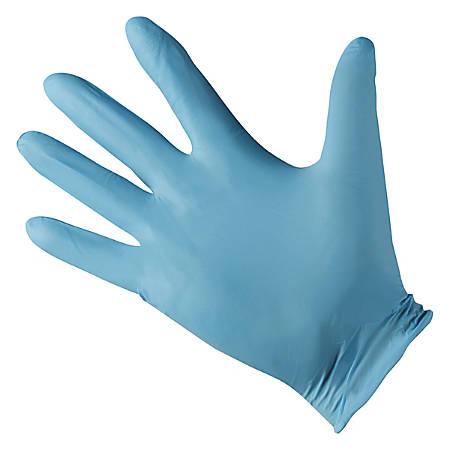 Kleenguard G10 Disposable Powder-Free Nitrile Gloves, Large, Blue, 100 Gloves Per Box, Carton Of 10 Boxes