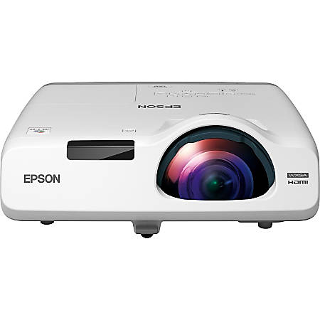 Epson® PowerLite 535W Short-Throw LCD Projector, White