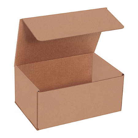 """Office Depot® Brand Corrugated Mailers, 4""""H x 6""""W x 9""""D, Kraft, Bundle Of 50 Mailers"""