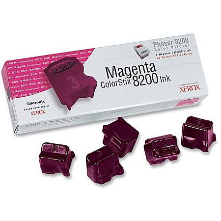 Xerox® 016204600 Magenta ColorStix Ink, Pack Of 5