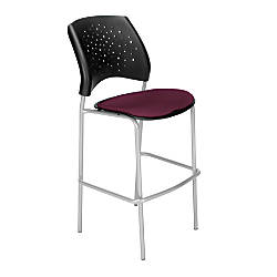 OFM Stars Caf Height Chair Fabric