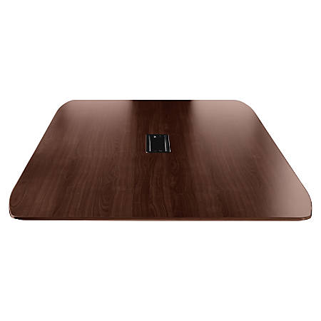 Lorell® Rectangular Conference Table Top, 8'W, Mahogany