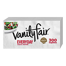 Vanity Fair Everyday Napkins 2 Ply