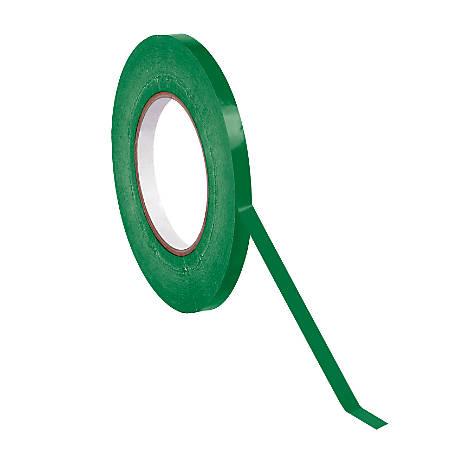 "Poly Bag-Sealing Tape, 3/8"" x 176 Yd., Green, Case Of 96"