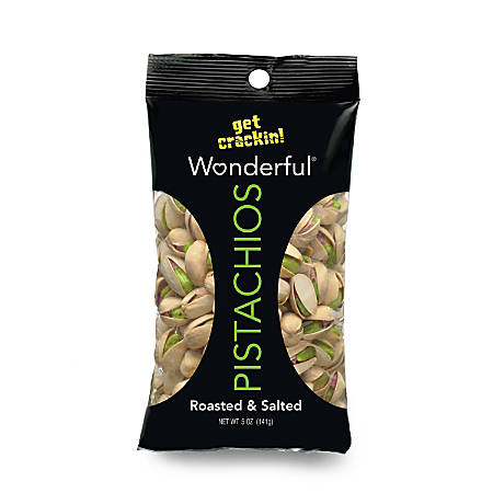 Wonderful Pistachios 5 Oz Bag by Office Depot & OfficeMax