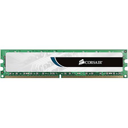 Corsair ValueSelect 4GB DDR3 SDRAM Memory Module - For Desktop PC - 4 GB (1 x 4 GB) - DDR3-1600/PC3-12800 DDR3 SDRAM - CL11 - 1.50 V - Unbuffered - 240-pin - DIMM