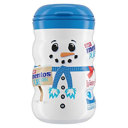 Mentos Pure Fresh Sugar-Free Gum Snowman