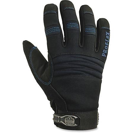 ProFlex Thermal Waterproof Utility Gloves, X-Large, Black, 2 Pair