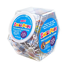 Zollipops Lollipops Assortment 150 Pieces Per