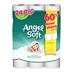 Angel Soft 2 Ply Bathroom Tissue