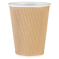 Genuine Joe Ripple Hot Cups 12