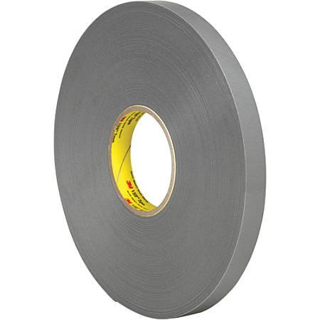 """3M™ VHB™ 4943F Tape, 1.5"""" Core, 0.75"""" x 5 Yd., Gray"""