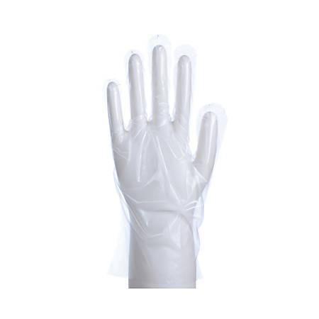 Poly Gloves, Medium, Box Of 100