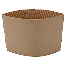 Genuine Joe Corrugated Hot Cup Sleeves