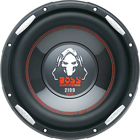 BOSS AUDIO P106DVC Phantom10 inch Dual Voice Coil (4 Ohm) 2100-watt Subwoofer - Sold Individually