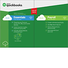 QuickBooks Online Essentials Payroll 2018 Download