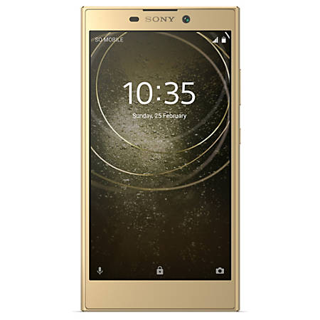 Sony® Xperia L2 H3321 Cell Phone, Gold, PSN300194
